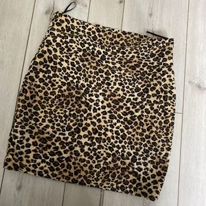 Leopard print Bodycon skirt